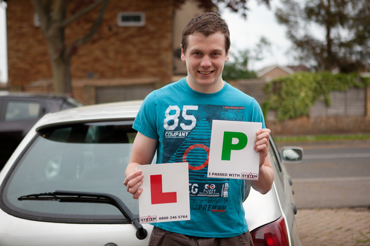 Pupil passes driving test